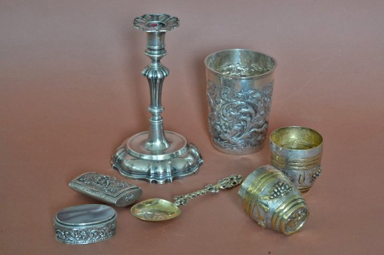 Antikes und modernes Silber ©2015 Kerls
