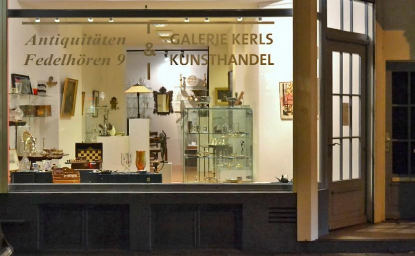 Ladenfront ©2015 Kunst & Antiquitäten Fedelhören 9, Bremen