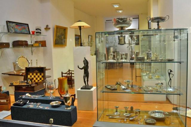 Unsere Ausstellungsräume im Fedelhören 9 ©2015 Kunst & Antiquitäten Fedelhören 9, Bremen